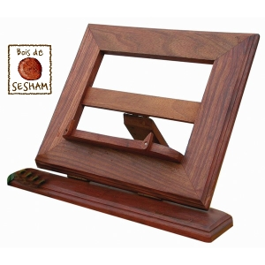 lutrin pupitre repose livre en bois de sesham. Black Bedroom Furniture Sets. Home Design Ideas
