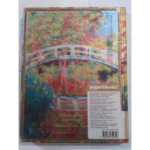 Carnet Paperblanks Ultra journal blanc MONET BRIDGE limited edition