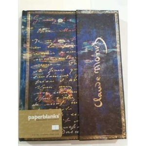 Carnet Paperblanks Monet, Water Lillies Ultra Unlined