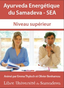 Dvd Video Ayurveda Energétique du Samadeva 2 (SEA)